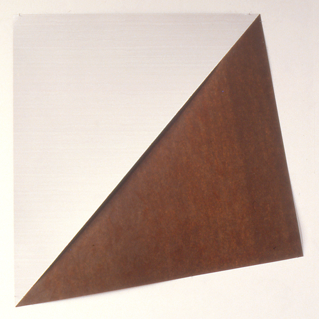 Zonder titel, zijdematverf op formica, 150x125 cm, 1983