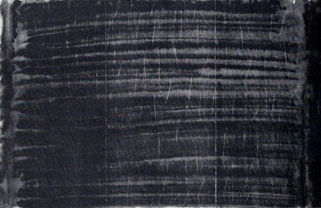 Zonder titel, oostindische inkt, contékrijt en acrylverf op papier, 100x65 cm, 1981